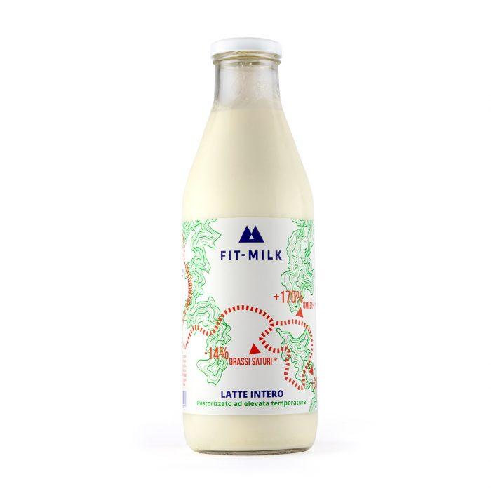 Latte fresco da erba grass fed